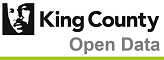 King County Open Data logo
